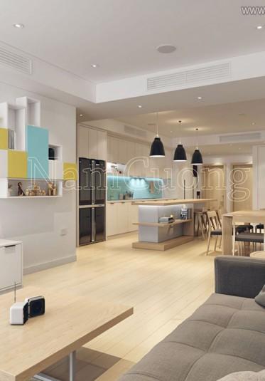 Thiết kế chung cư scandinavian sang trọng ở Hà Nội