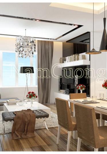 Nội thất phòng khách bếp đẹp phong cách hiện đại - NTPKBHD 004