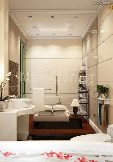 Thiết kế nội thất phòng WC cho căn nhà hiện đại - NTWCHD 005