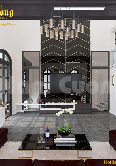 Gợi ý những mẫu thiết kế phòng khách hiện đại đẹp năm 2018