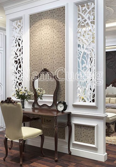 Thiết kế nội thất đẹp cho biệt thự tân cổ điển