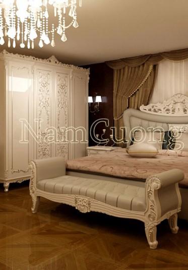 Mẫu nội thất biệt thự tân cổ điển đẹp tại Hà Nội - NTBTCD 030