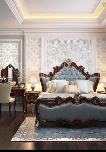 Những mẫu nội thất phòng ngủ tân cổ điển đẹp ấn tượng của NCDC