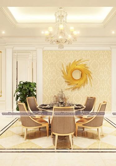 Mẫu thiết kế nội thất biệt thự tân cổ điển đẹp và sang trọng