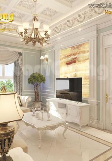 Mẫu nội thất chung cư tân cổ điển đẹp ấn tượng tại Sài Gòn - NTCCTCD 001