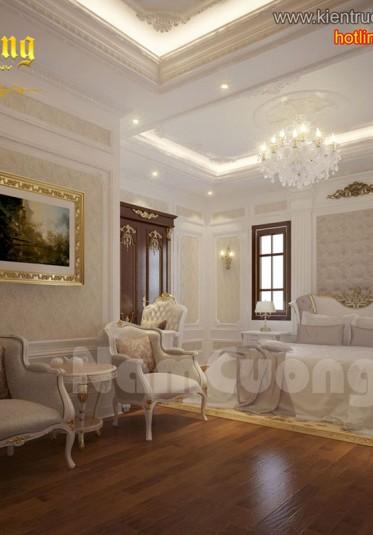 Thiết kế nội thất phòng ngủ tân cổ điển ấn tượng tại Sài Gòn - NTNTCD 012