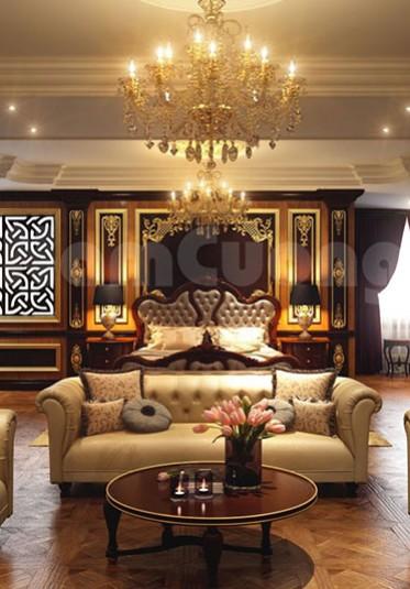 Mẫu thiết kế Penthouse kiểu Pháp đẳng cấp, xa hoa