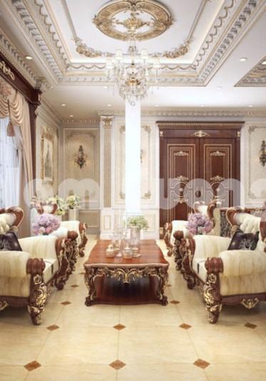 Tái hiện không gian cổ Pháp qua mẫu thiết kế nội thất đẹp mê ly