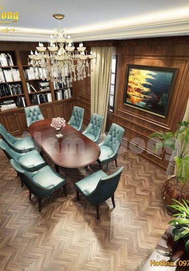 Giới thiệu những mẫu thiết kế phòng làm việc tân cổ điển đẹp