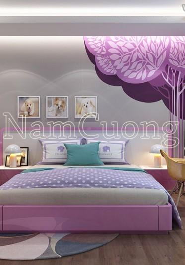 Một số lưu ý khi thiết kế nội thất phòng ngủ trẻ em