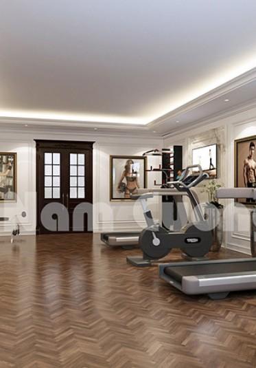 Những ý tưởng thiết kế nội thất phòng tập gym tại nhà