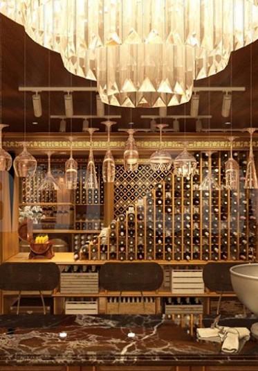 Gợi ý những mẫu thiết kế tủ rượu đơn giản nhưng đẹp ngất ngây
