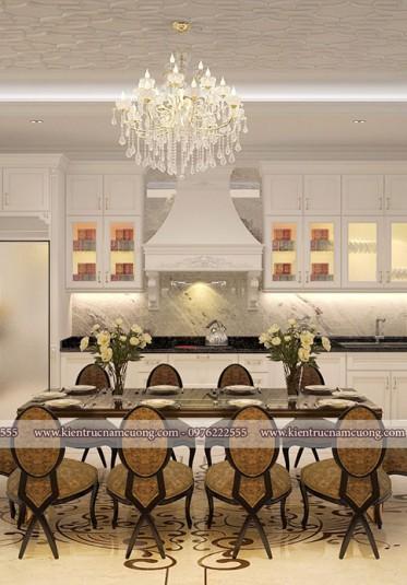 Thiết kế nội thất biệt thự tại Đà Nẵng đẹp hoàn mỹ