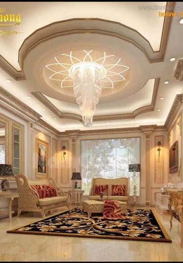 Các mẫu thiết kế phòng khách nhà 1 tầng đẹp
