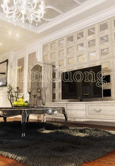 Bộ sưu tập nội thất phòng khách nhà ống 4m sang trọng