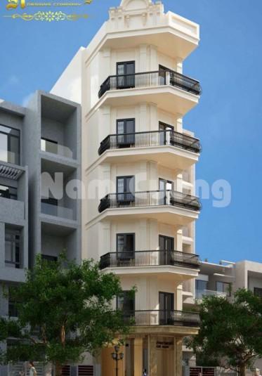 Mẫu thiết kế căn hộ cho thuê 7 tầng thu hút khách