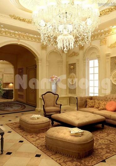 Các mẫu thiết kế phòng khách 50m2 siêu đẹp
