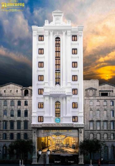 Mẫu thiết kế tòa nhà kinh doanh cực đẳng cấp tại Hải Dương