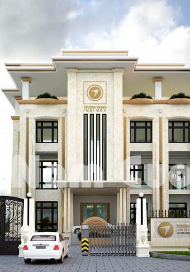 Tham khảo mẫu thiết kế trụ sở hành chính tại Quảng Bình