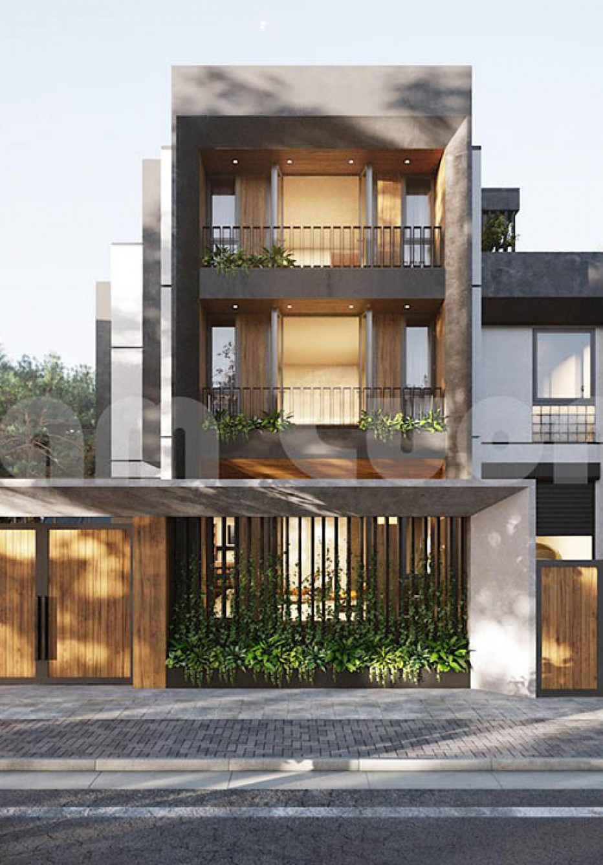 Khám phá vẻ đẹp của mẫu thiết kế biệt thự hiện đại 3 tầng Sài Gòn