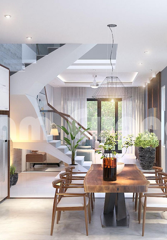 Cá tính - Độc đáo trong mẫu thiết kế nội thất nhà ống hiện đại