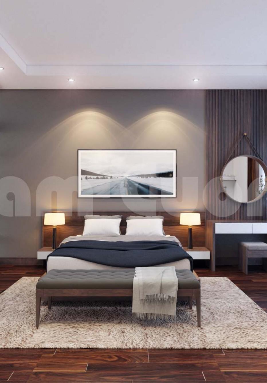 Nội thất tân cổ điển- 2 phòng ngủ cho biệt thự tân cổ điển