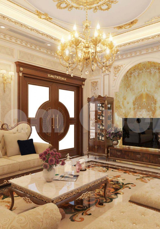Thiết kế nội thất biệt thự kiến trúc Pháp-CĐT Hoàng Tiến Sinh