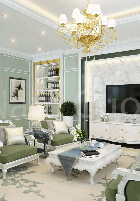 Thiết kế nội thất phòng khách hiện đại ai cũng mê mẩn