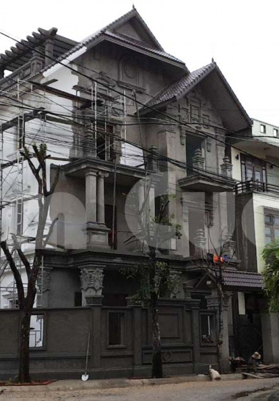Thi công kiến trúc biệt thự tân cổ điển ấn tượng