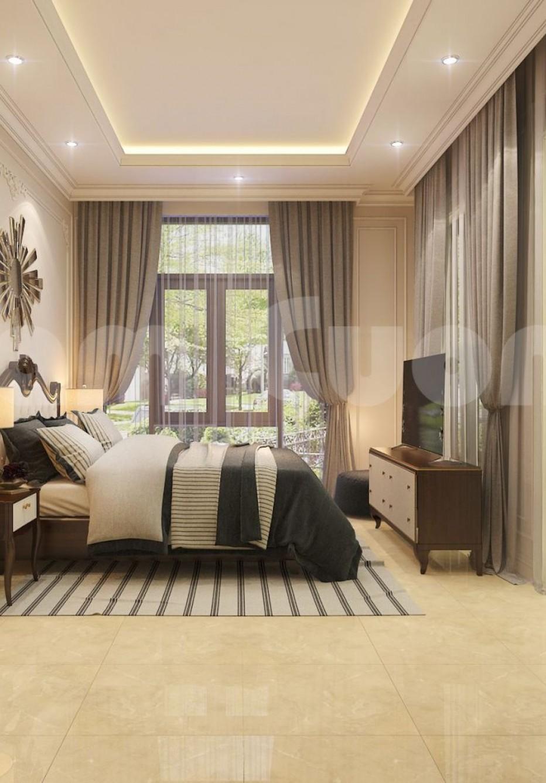 Gợi ý 4 mẫu thiết kế nội thất phòng ngủ cho biệt thự tân cổ điển