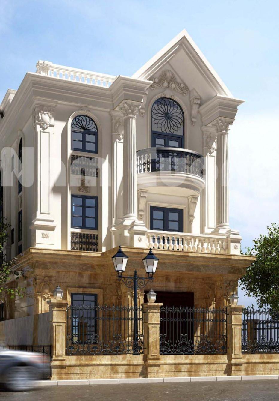 Hoàn thành thiết kế biệt thự tân cổ điển 3 tầng Vinhomes