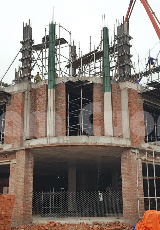 Thi công nhà đẹp- Thi công biệt thự 3 tầng tại Nghệ An