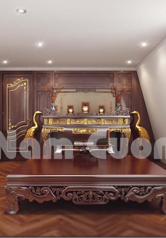 Phong thủy nội thất phòng thờ - Nét đẹp của người Á Đông