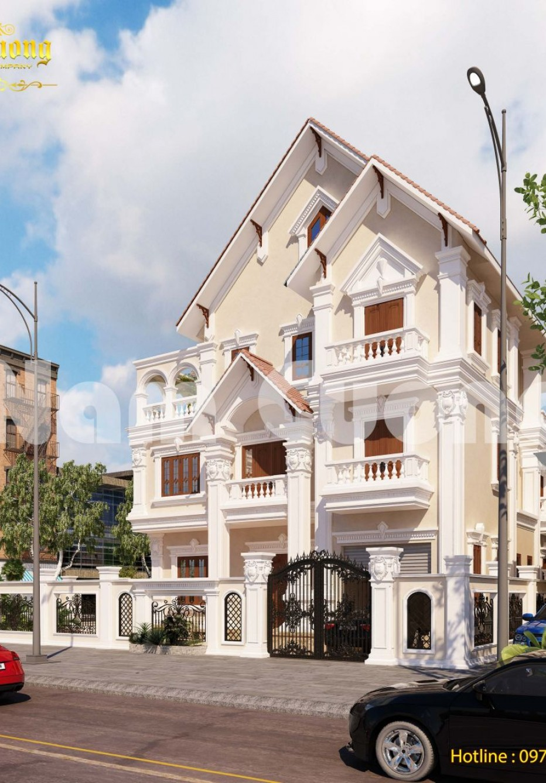 Hoàn thành biệt thự Pháp 3 tầng 2 mặt tiền