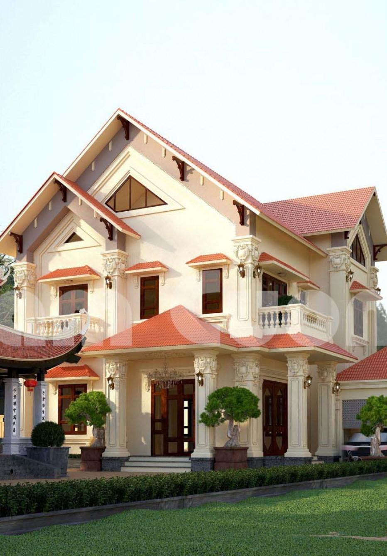 Hoàn thành thiết kế nhà ở kết hợp nhà thờ họ tại Hải Phòng