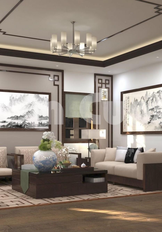 Thiết kế nội thất sang trọng của biệt thự 2 tầng độc đáo