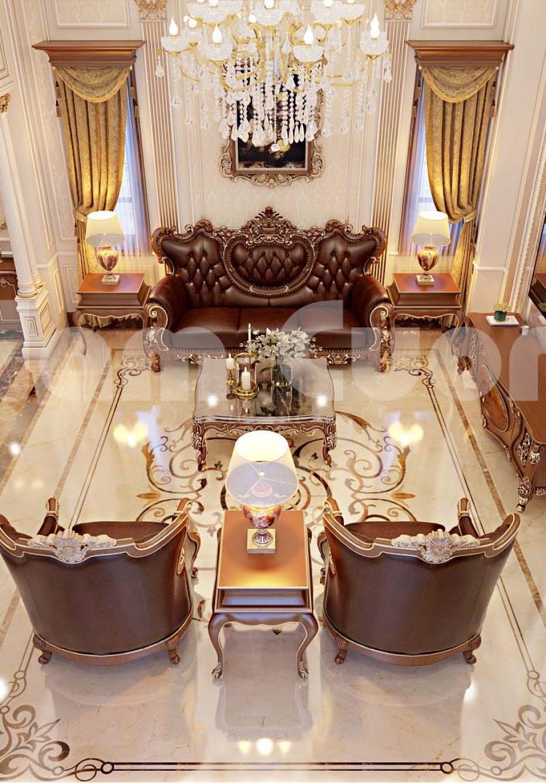 Ngỡ ngàng với mẫu thiết kế nội thất biệt thự phong cách tân cổ điển đẹp