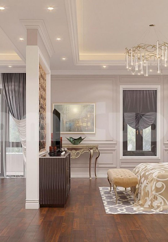Mẫu thiết kế nội thất phòng ngủ lộng lẫy cho biệt thự Pháp-CĐT anh Lân