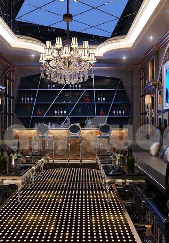 Thiết kế nội thất phòng chiếu phim và phòng karaoke tại nhà đẹp mê ly