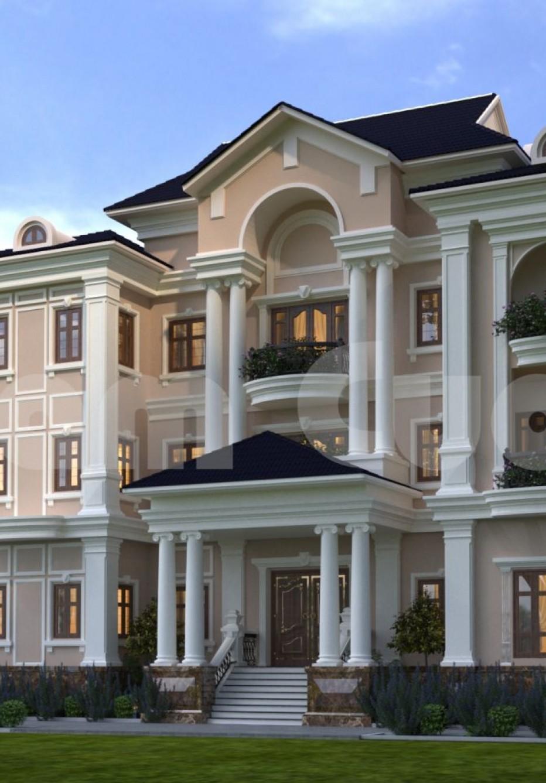 Thiết kế biệt thự 3 tầng đẹp-độc-lạ tại Cần Thơ