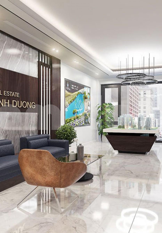 Thiết kế nội thất tòa nhà làm việc công ty bất động sản- CĐT Thân Thị Tâm