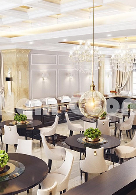 Thiết kế nhà ăn cho khách sạn 3 sao tân cổ điển