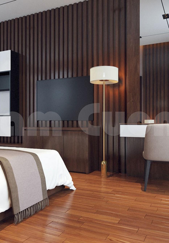 Thiết kế nội thất phòng ngủ khách sạn hiện đại