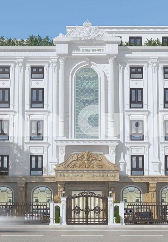 Thiết kế khách sạn tân cổ điển cao cấp tại Quảng Ninh