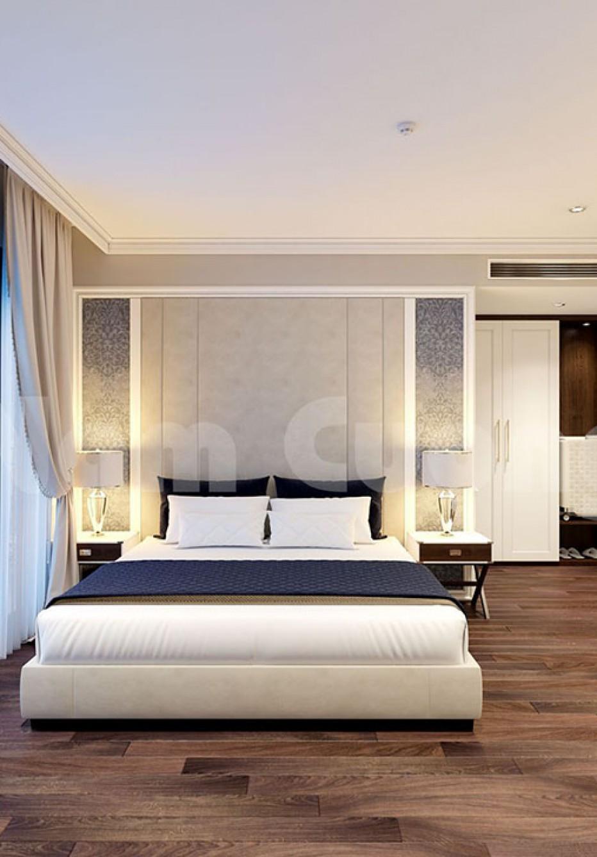 Thiết kế nội thất phòng ngủ đơn khách sạn