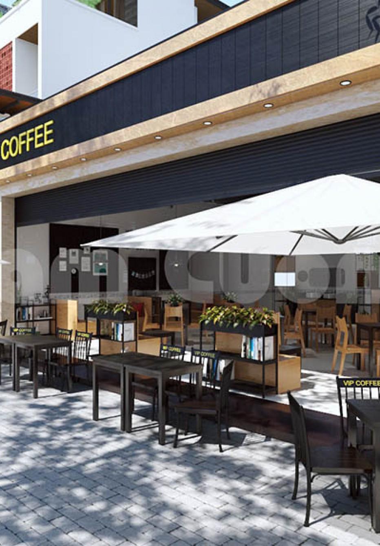 Thiết kế nội thất quán cafe sang trọng của hệ thống cafe VIP