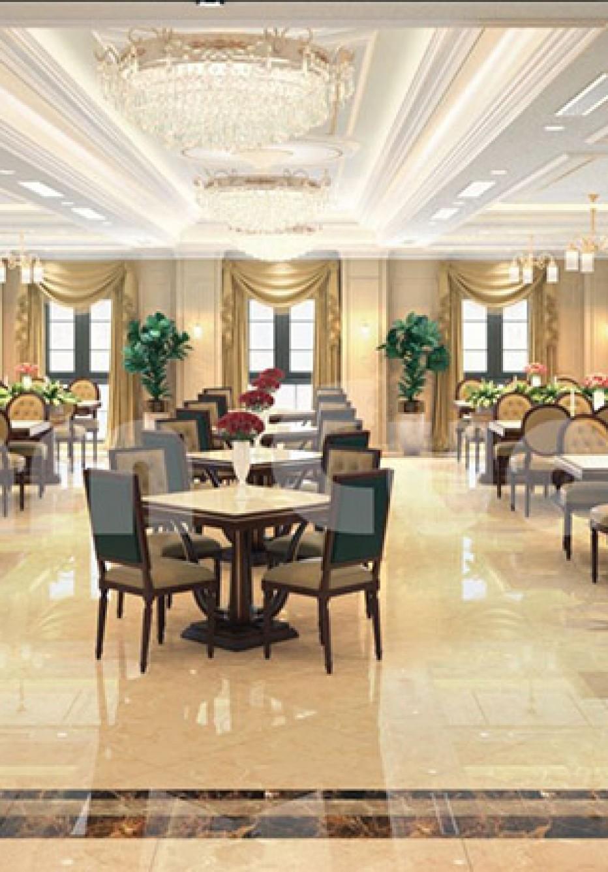Thiết kế nội thất nhà hàng- khu vực phòng ăn