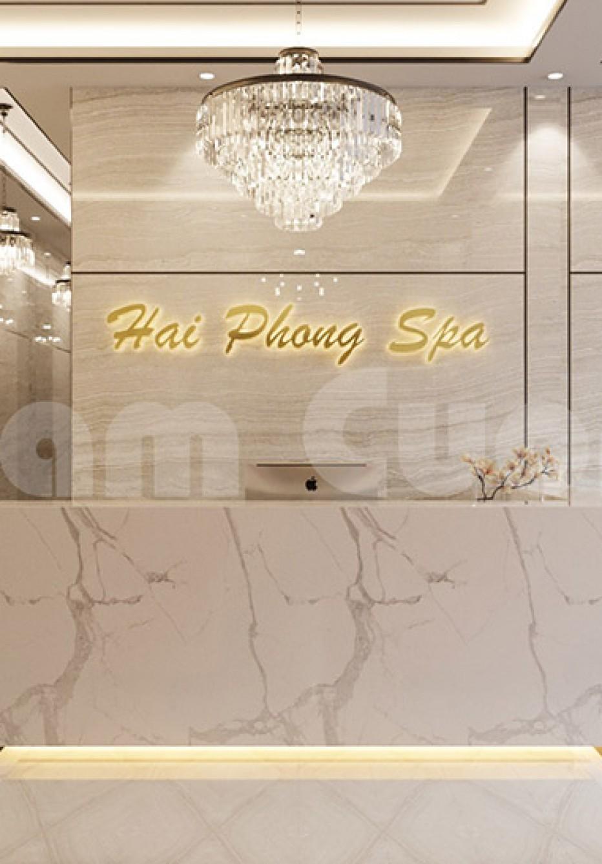 Thiết kế nội thất spa tại Hải Phòng