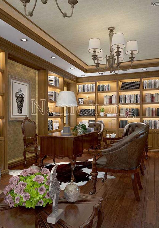 Bộ sưu tập hình ảnh nội thất biệt thự gỗ tự nhiên