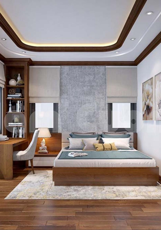 Không gian nội thất biệt thự mái bằng đẳng cấp